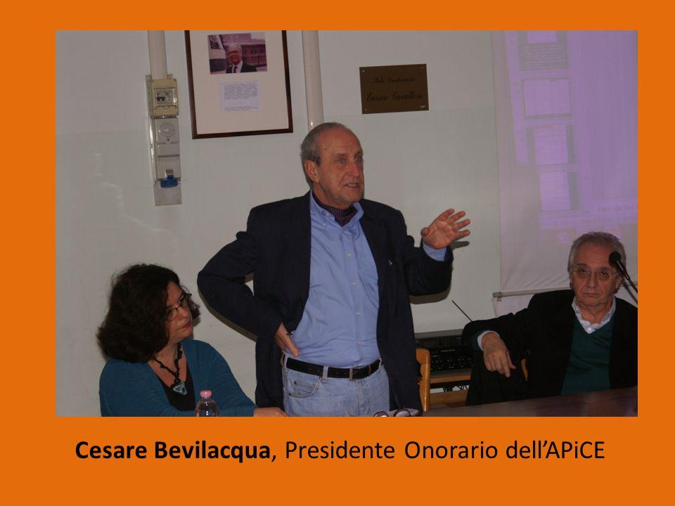 Cesare Bevilacqua, Presidente Onorario dellAPiCE