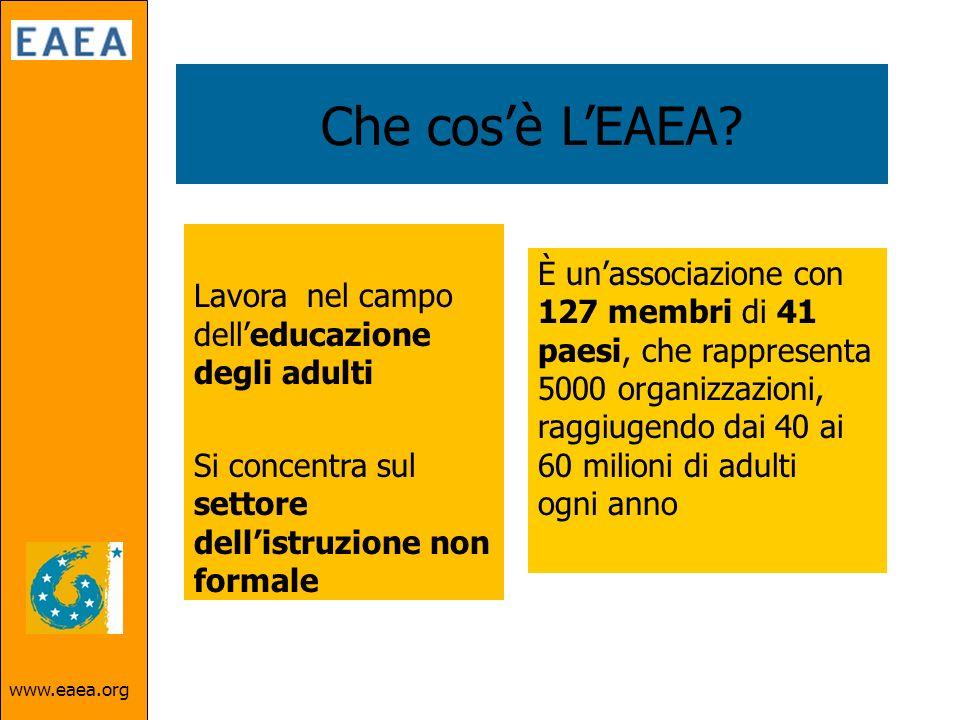 www.eaea.org Che cosè LEAEA.