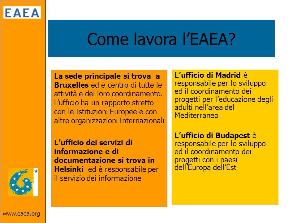 www.eaea.org Come lavora lEAEA.