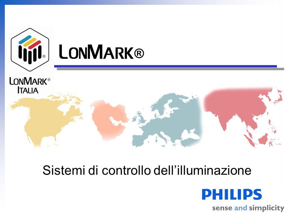 LonMark Italia Vantaggi della tecnologia LON Separazione tra funzionalità e livello installativo … ma la configurazione delle zone di lavoro è indipendente da questo.