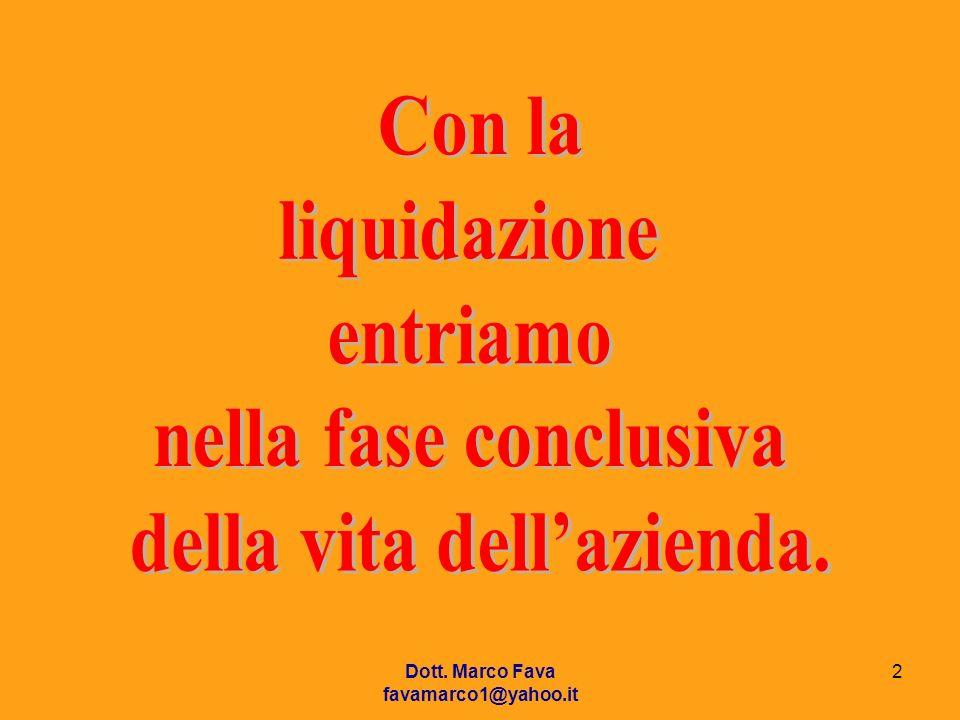 Dott. Marco Fava favamarco1@yahoo.it 2