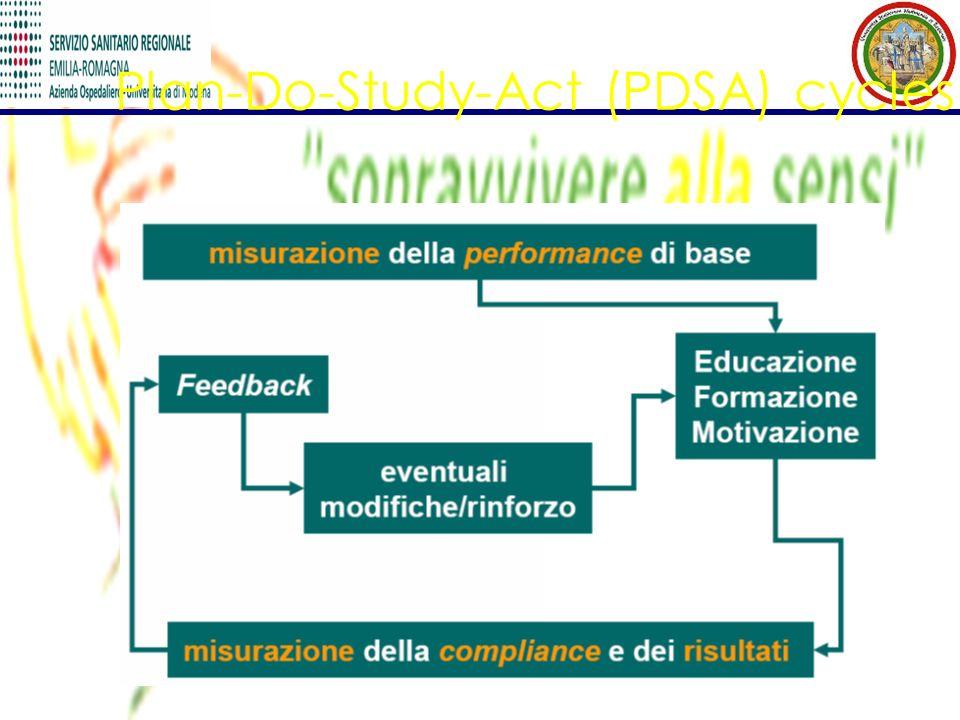Plan-Do-Study-Act (PDSA) cycles