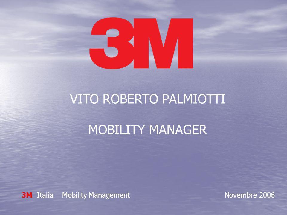 VITO ROBERTO PALMIOTTI MOBILITY MANAGER 3M Italia Mobility Management Novembre 2006