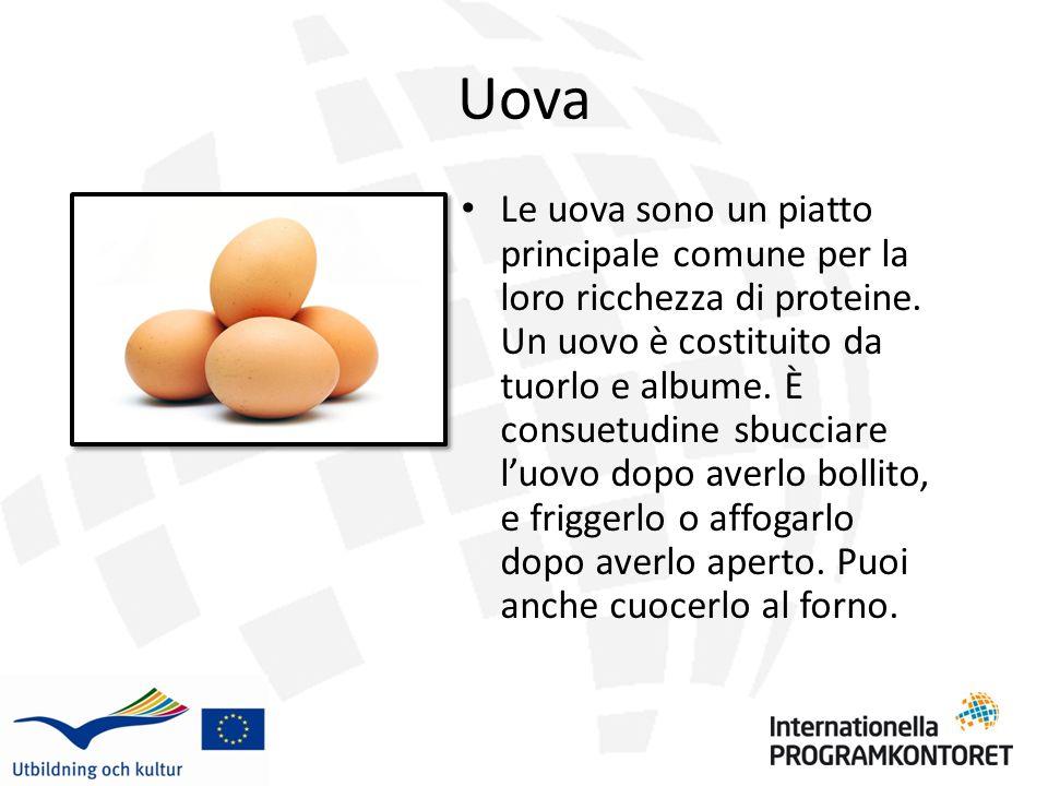 Uova Fritte Le uova fritte sono servite in una varieta di modi e possono essere mangiate ad ogni pasto.