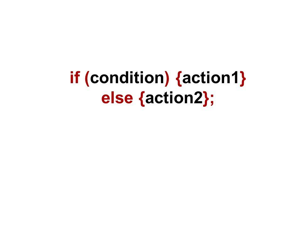Ecco un possibile esempio: if (browser== MSIE ) {alert( Stai usando MSIE )} else {alert( Stai usando Netscape )};