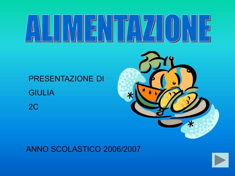 PRESENTAZIONE DI GIULIA 2C ANNO SCOLASTICO 2006/2007