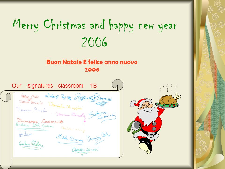 Merry Christmas From ict Lab. Tanti Auguri