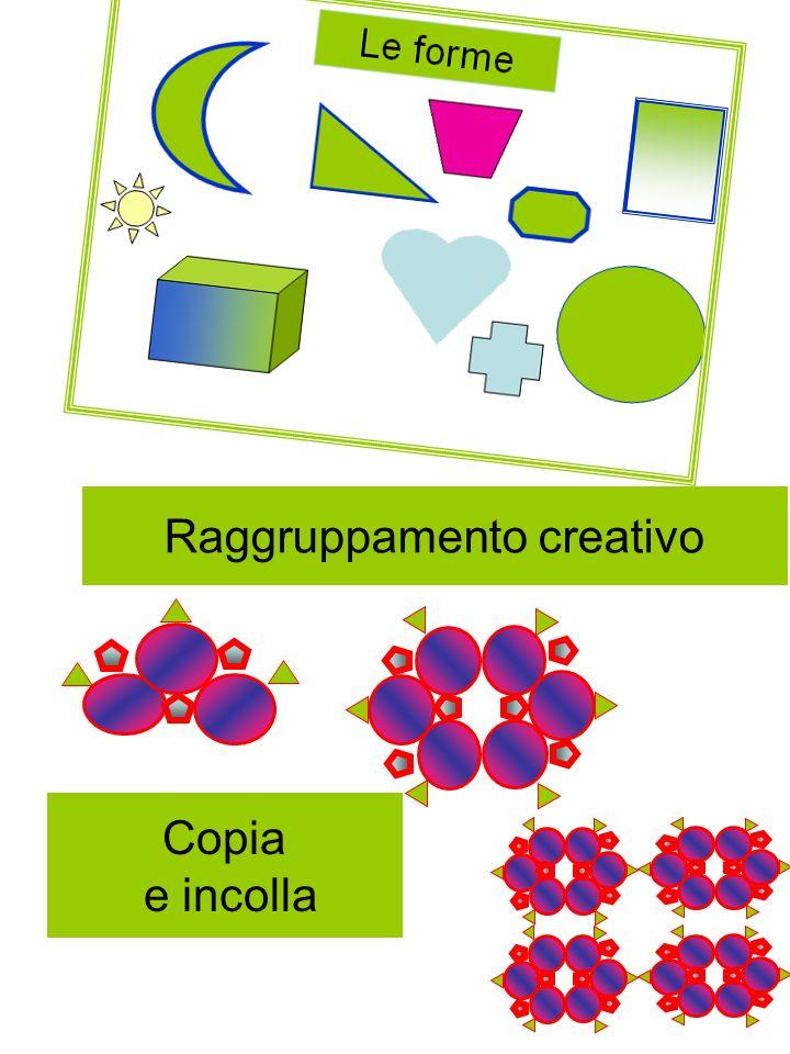 Raggruppamento creativo Copia e incolla
