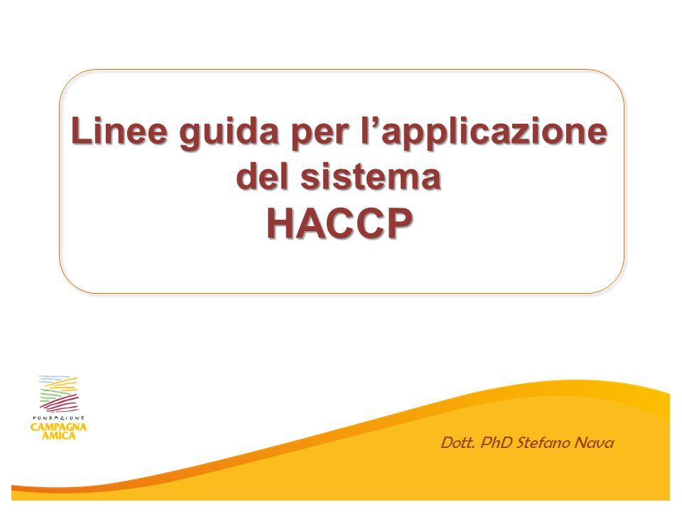 HACCP Hazard Analisis and Critical Control Points D.
