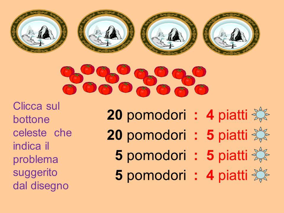 12 fiori : 5 vasi = 2 fiori 6 fiori : 2 vasi = 2 fiori 5 fiori : 3 vasi = 2 fiori 12 fiori : 6 vasi = 2 fiori
