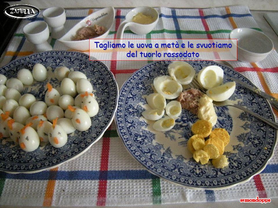 le uova sode appartengono alla tradizione pasquale ma poi, assieme alle prelibatezze del pranzo festivo, raramente si consumano; perciò, ecco qui unot