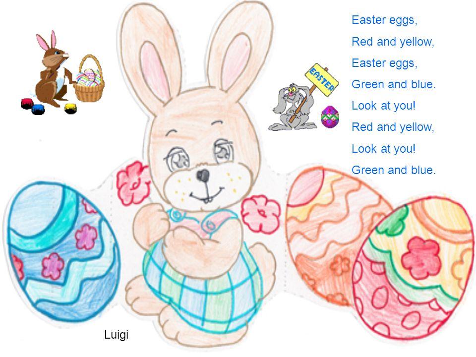 IL GIORNO DI PASQUA Al chiaro di luna un coniglietto cercava un posto per nascondere le uova di Pasqua, però non riusciva a trovarlo. Quando il sole s