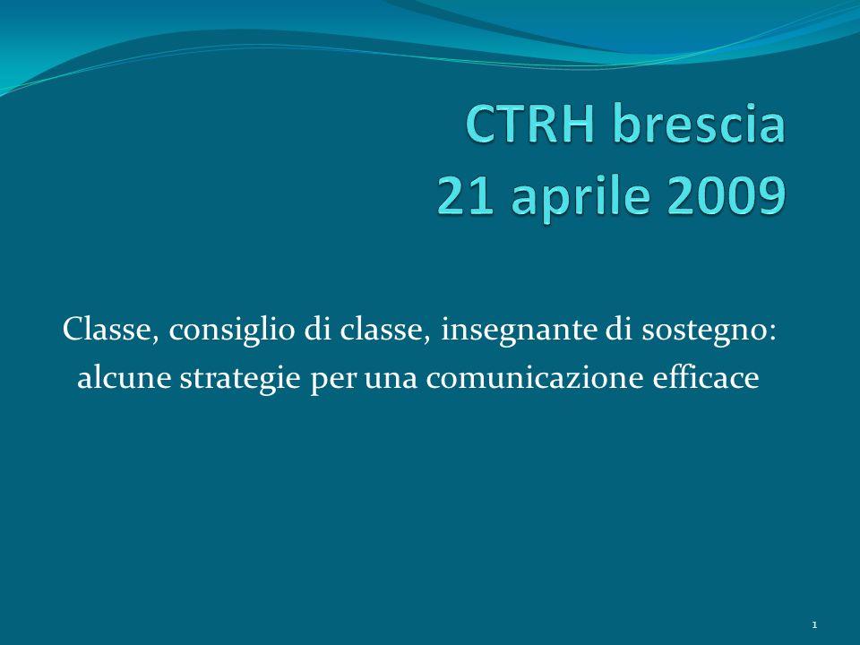I vantaggi dellesercizio critico dellatto comunicativo: o Ragionare di processi, ma non di colpe.