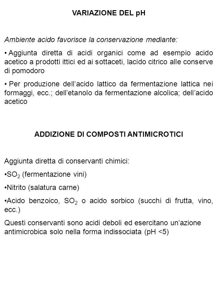 Fattori ritenuti implicati in 1152 episodi di tossinfezioni alimentari (Scozia 1980-85) Fattori implicati% (*) - Inadeguata refrigerazione46 - Intervallo di 1 o più giorni fra preparazione e consumo 21 + portatori20 = inadeguata cottura16 - insufficiente conservazione al caldo 16 = insufficiente conservazione al freddo 12 + ingestione di alimenti crudi contaminati 11 + contaminazione crociata7 + inadeguata pulizia delle attrezzature 7 Legenda:- fattori che influenzano la moltiplicazione microbica = fattori che influenzano la sopravvivenza microbica + fattori che influenzano la contaminazione microbica (*) la somma risulta maggiore di 100 poiché in genere più fattori concorrono alla tossinfezione