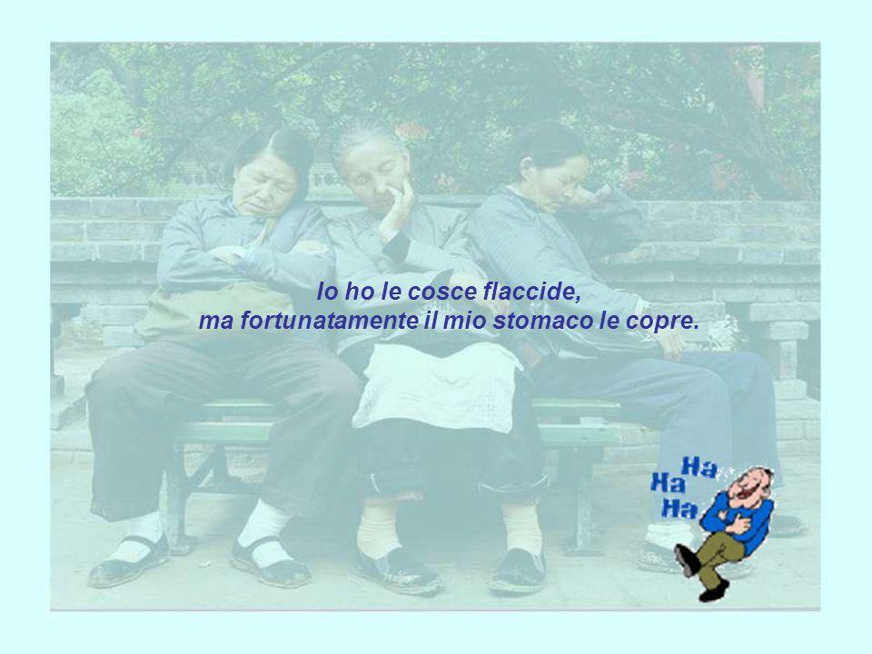 Dialogo tra anziani coniugi: Marito: