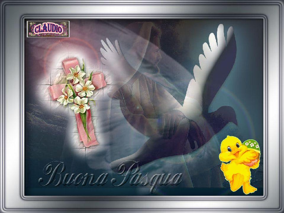 Buona Pasqua con amore dal profondo del mio cuore che ti avvolga come un velo perché è forte e sincero.