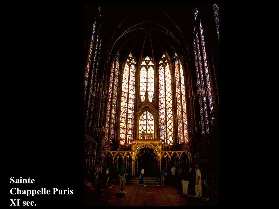 Sainte Chappelle Paris XI sec.