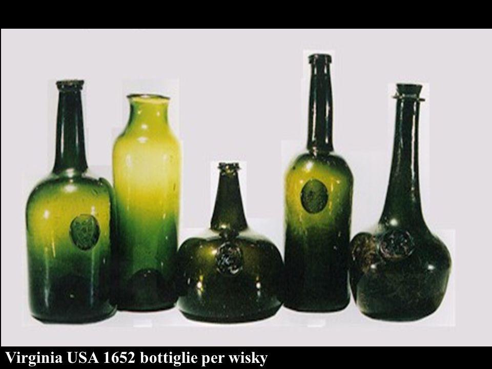 Virginia USA 1652 bottiglie per wisky