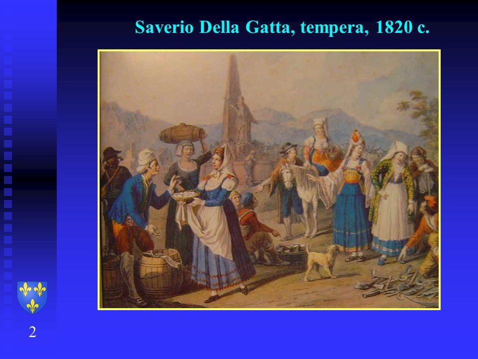 Saverio Della Gatta, tempera, 1820 c. 2