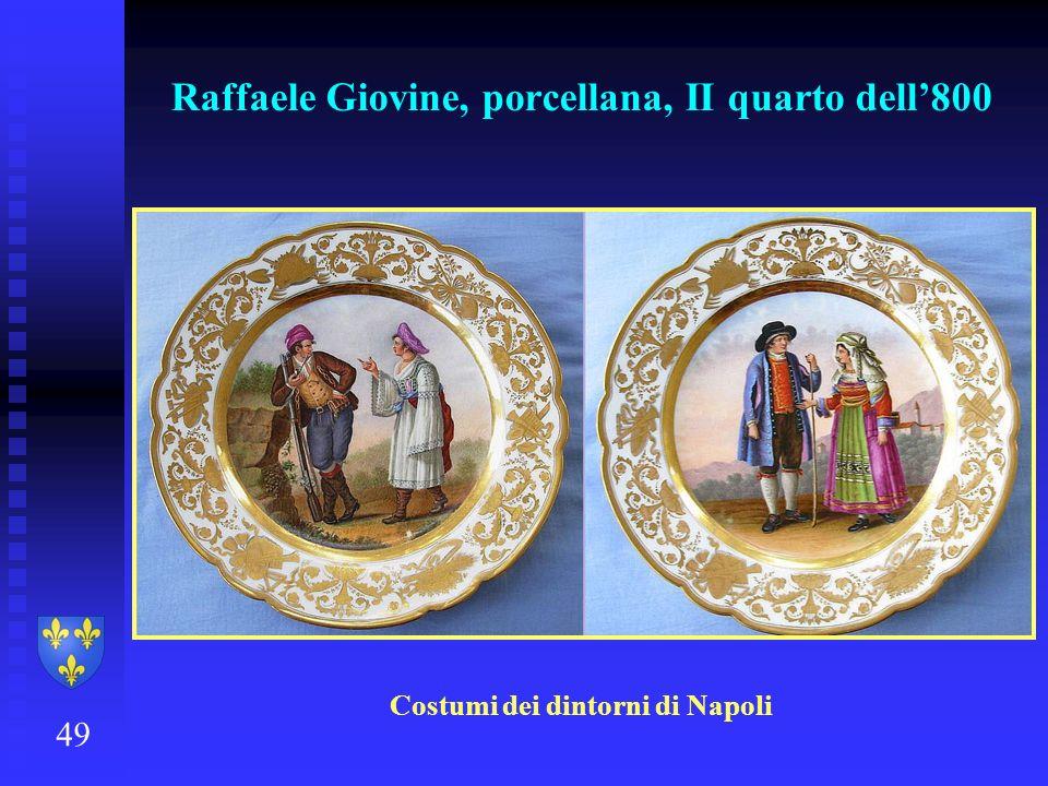 Raffaele Giovine, porcellana, II quarto dell800 49 Costumi dei dintorni di Napoli