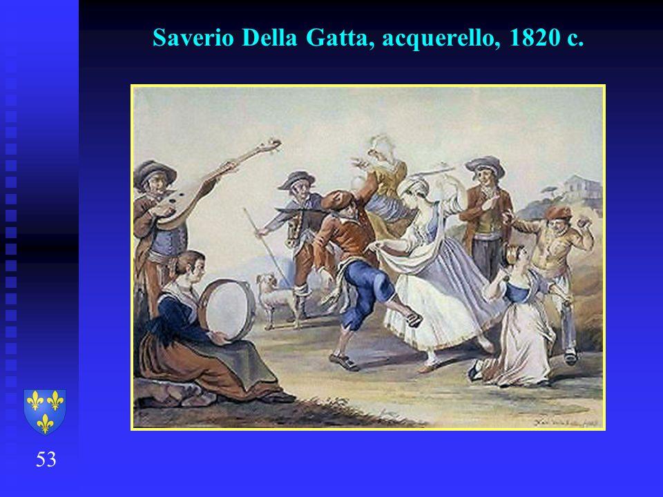 53 Saverio Della Gatta, acquerello, 1820 c.