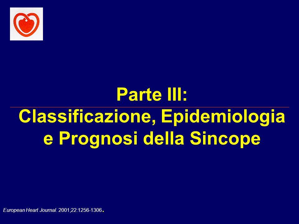 European Heart Journal. 2001;22:1256-1306. Valutazione Iniziale Diagnosi