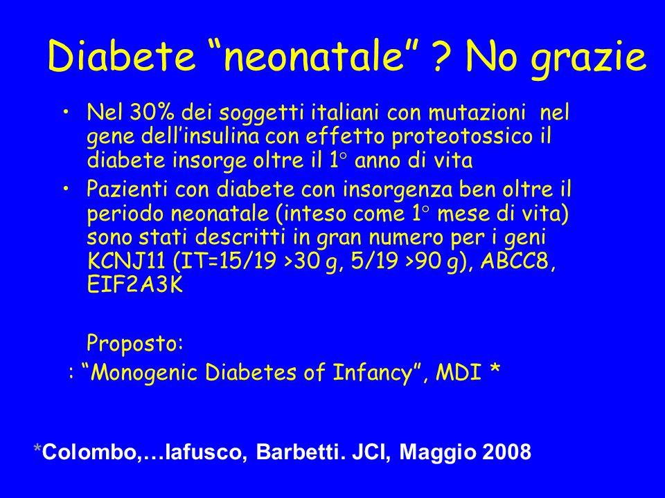 Diabete neonatale .
