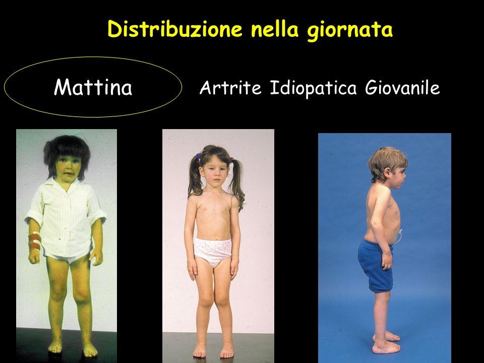 Distribuzione nella giornata Artrite Idiopatica Giovanile Mattina