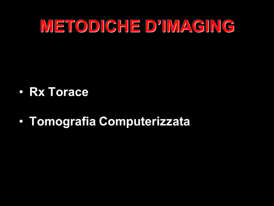 METODICHE DIMAGING Rx Torace Tomografia Computerizzata