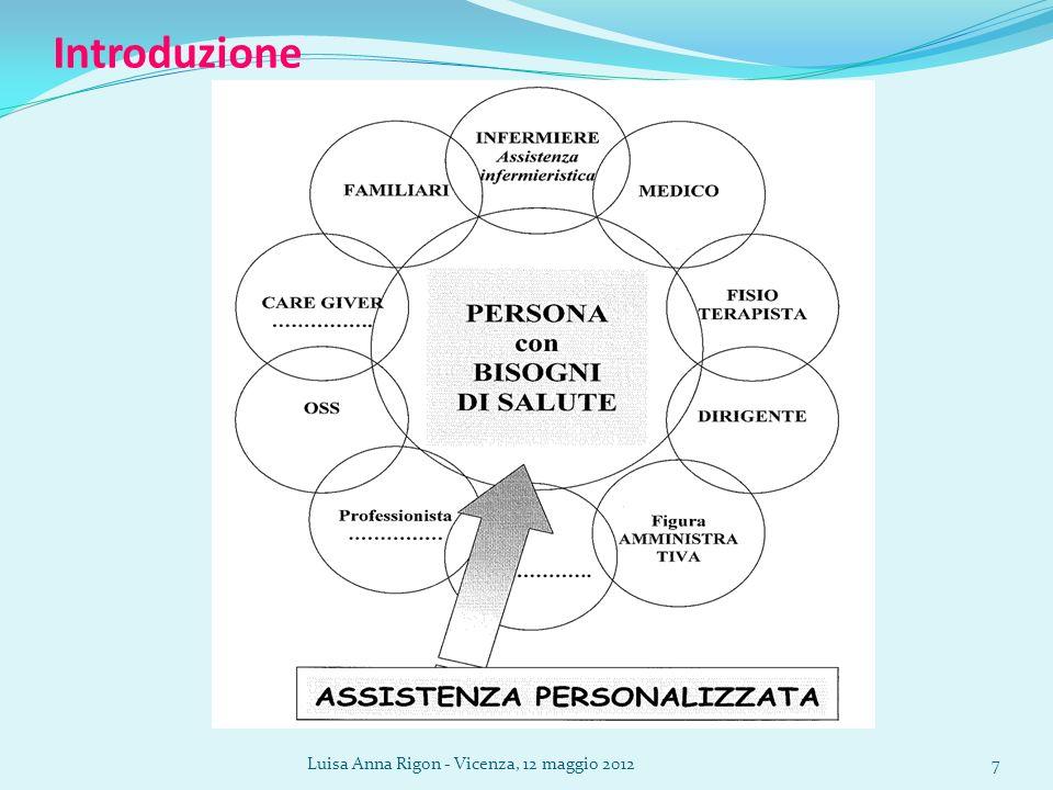 Luisa Anna Rigon - Vicenza, 12 maggio 201218 Materiali e metodi – tassonomie NNN