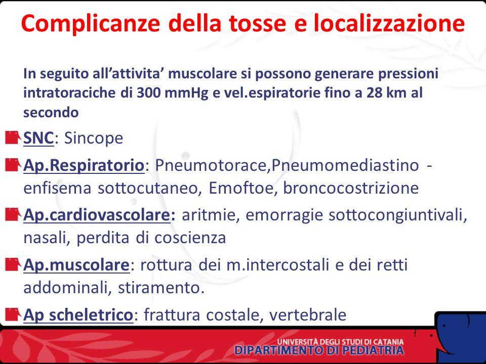 FISIOPATOLOGIA Fase inspiratoria (contrazione dei m.abduttori delle cartilagini aritenoidee) Fase compressiva (a glottide chiusa) Fase espulsiva NB: L