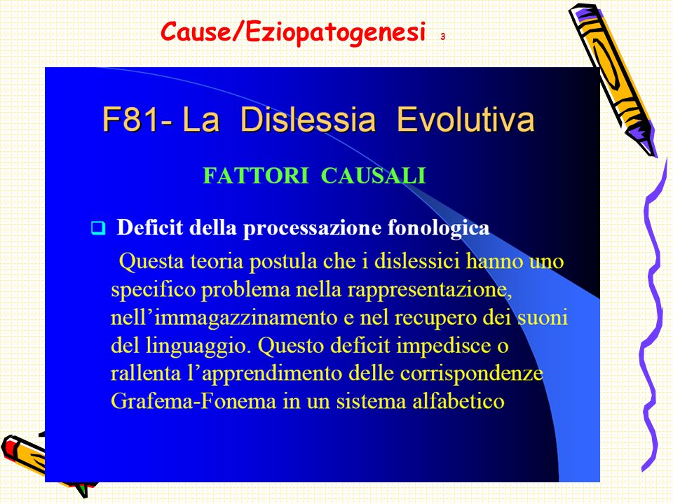 Cause/Eziopatogenesi 3