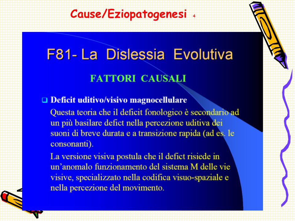 Cause/Eziopatogenesi 4