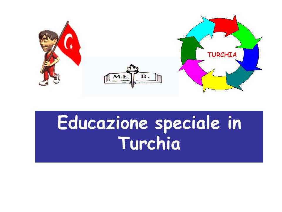 Educazione speciale in Turchia TURCHIA