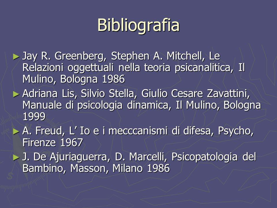 Bibliografia Jay R.Greenberg, Stephen A.
