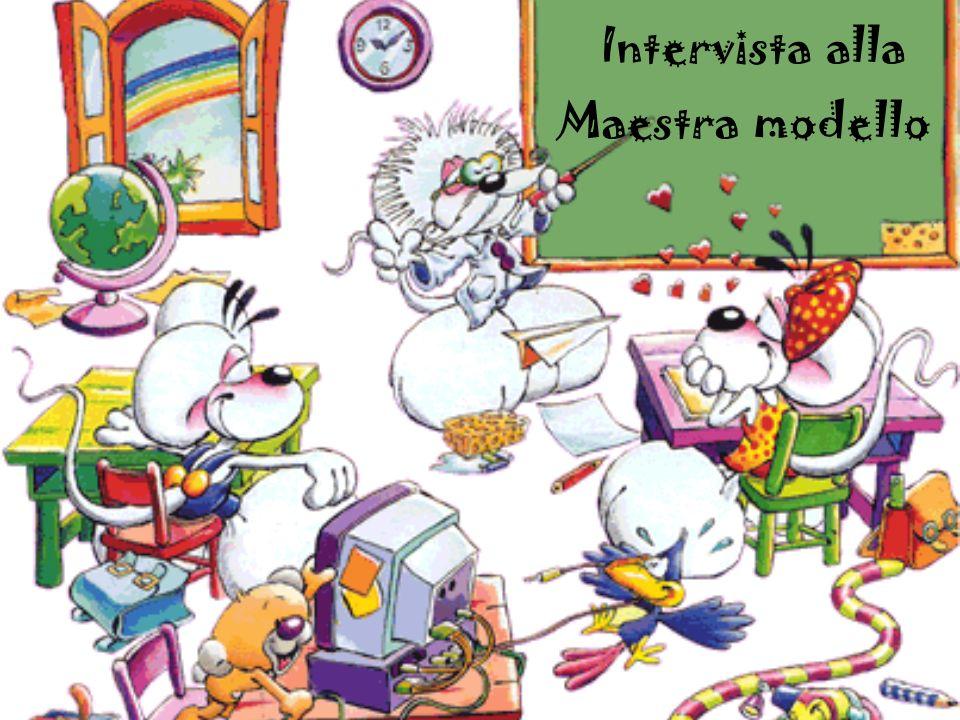 Intervista alla Maestra modello