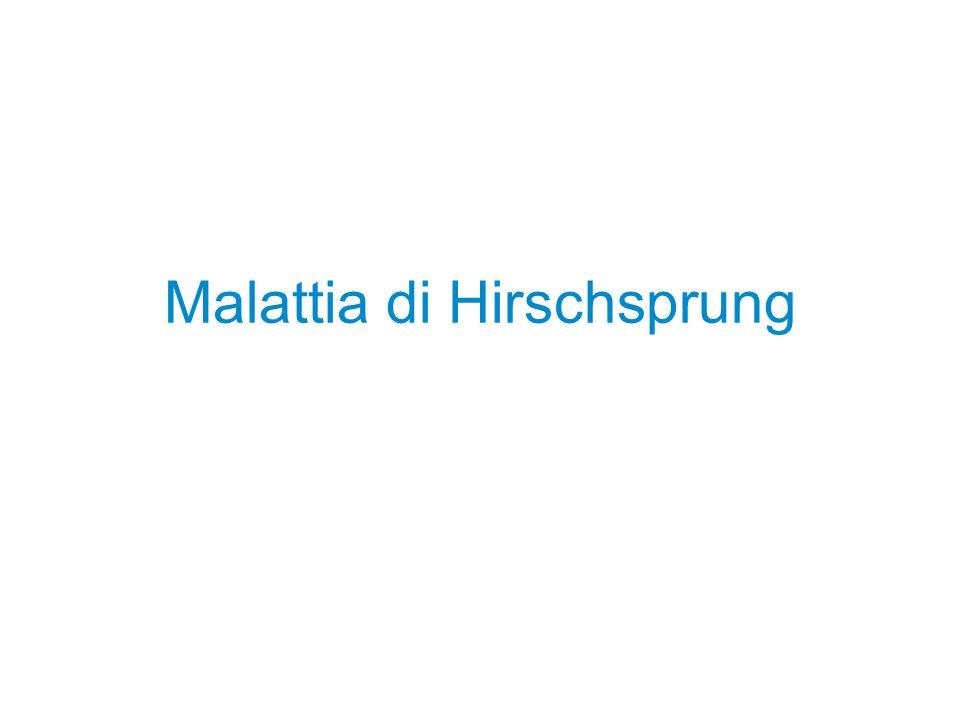 Malattia di Hirschsprung