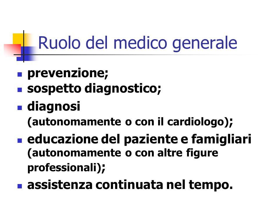 Ospedale, specialisti e territorio Ruoli e competenze