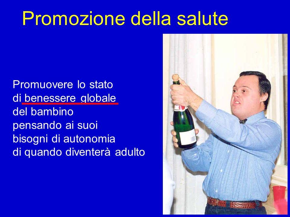Prevalenza nella popolazione Non esistono indagini attendibili sulla prevalenza nella popolazione della sindrome Down Tenendo conto dei tassi di prevalenza tra i nati negli ultimi 60 anni e della sopravvivenza costantemente migliorata negli ultimi 50 anni si può stimare che attualmente : Una persona su 1.800 in Italia, presenti la sindrome Down In Italia vi siano circa 30.000 persone Il 55% delle persone con sindrome Down abbia più di 25 anni