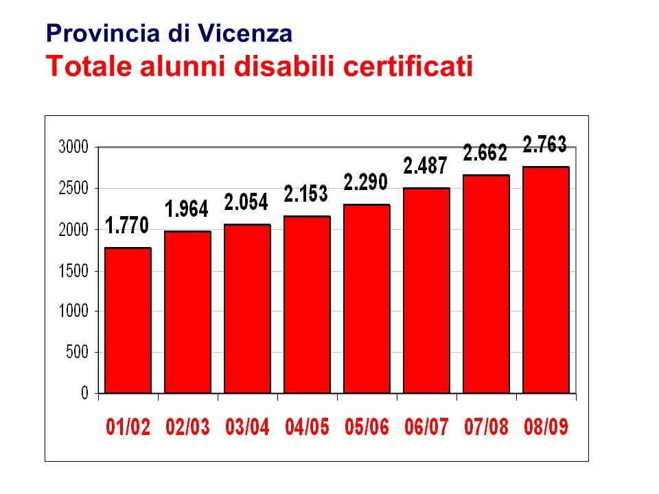 23 Flavio Fogarolo – USP di Vicenza Provincia di Vicenza Codici ICD10 più ricorrentiUnici o princip.
