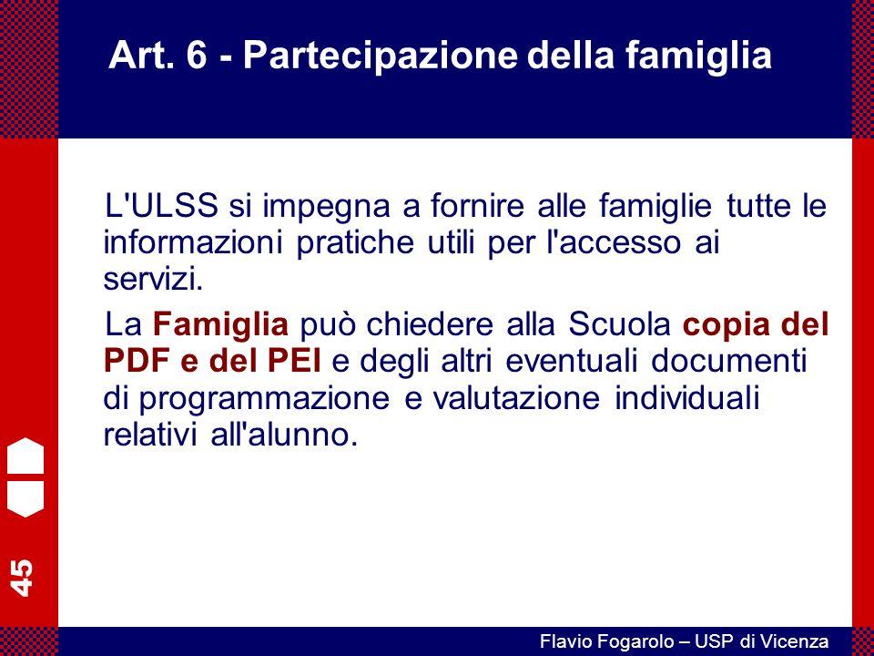 45 Flavio Fogarolo – USP di Vicenza Art.