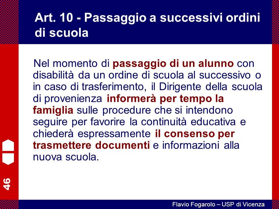 46 Flavio Fogarolo – USP di Vicenza Art.