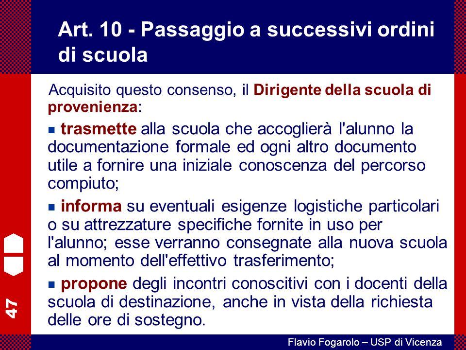 47 Flavio Fogarolo – USP di Vicenza Art.