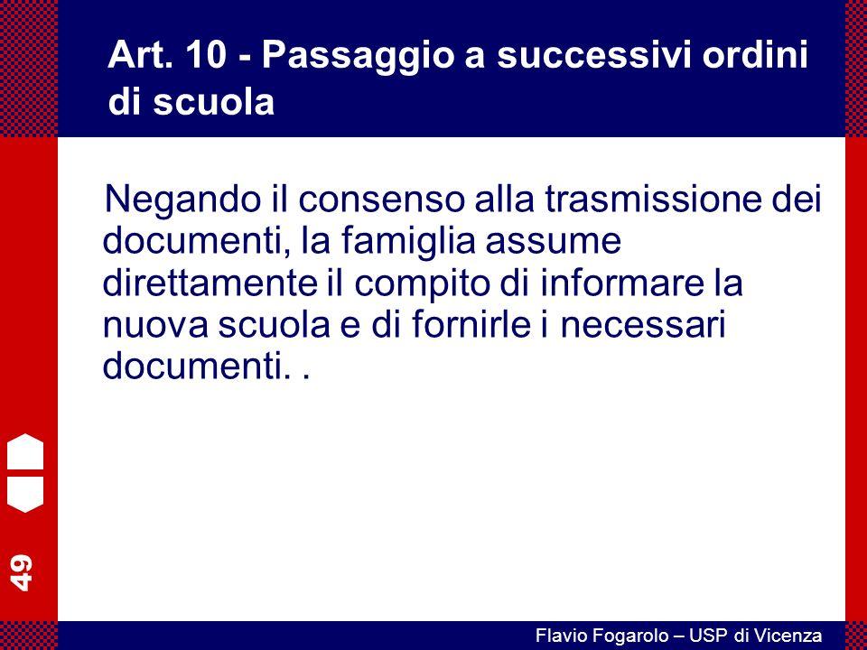 49 Flavio Fogarolo – USP di Vicenza Art.