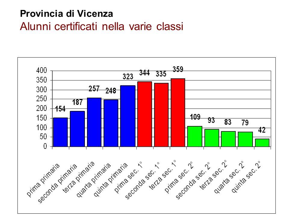 6 Flavio Fogarolo – USP di Vicenza Provincia di Vicenza Percentuale di alunni stranieri sul totale degli alunni certificati