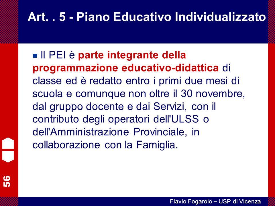 56 Flavio Fogarolo – USP di Vicenza Art..