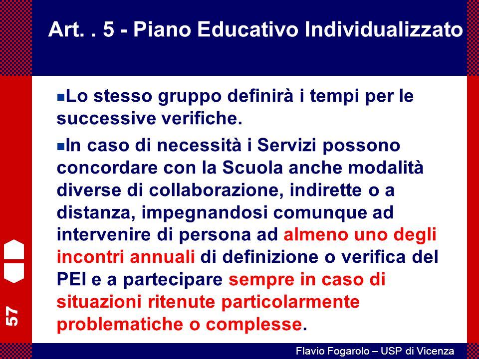 57 Flavio Fogarolo – USP di Vicenza Art..