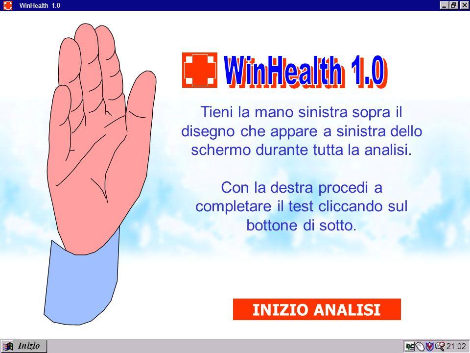 21:04 WinHealth 1.0 WinHealth è un software di nuova generazione che verrà presto installato presso le unità mediche di pronto soccorso di tutto il S.S.N.