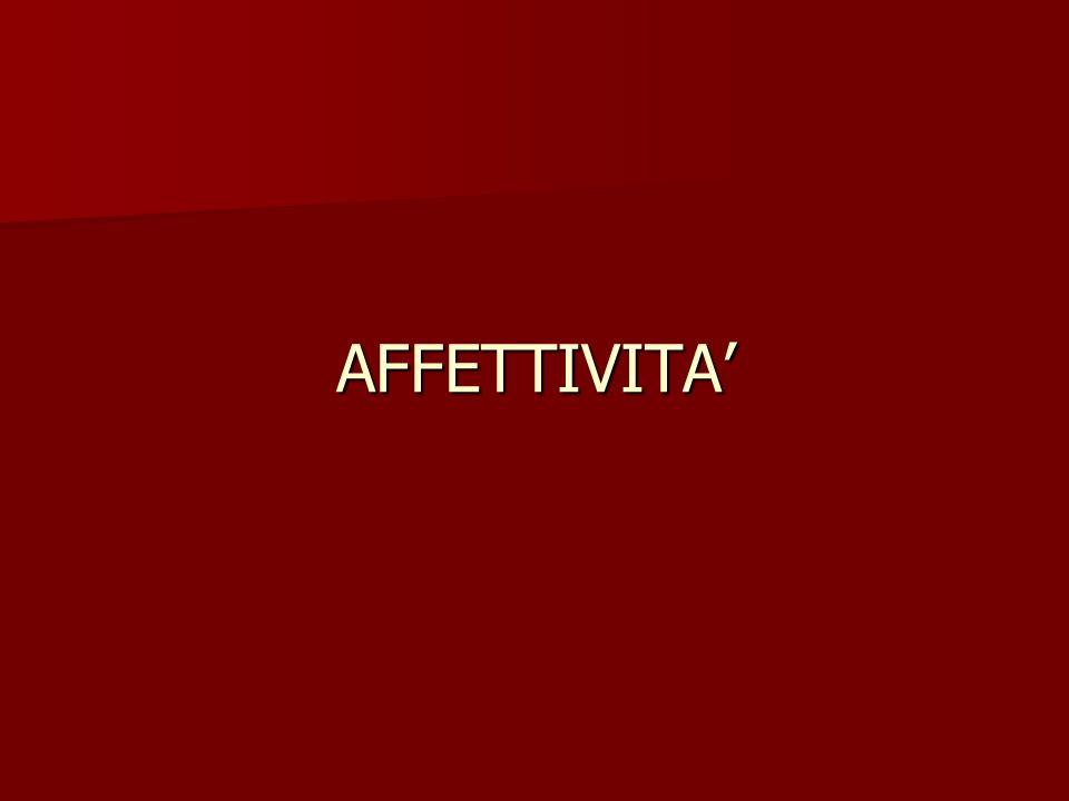 AFFETTIVITA