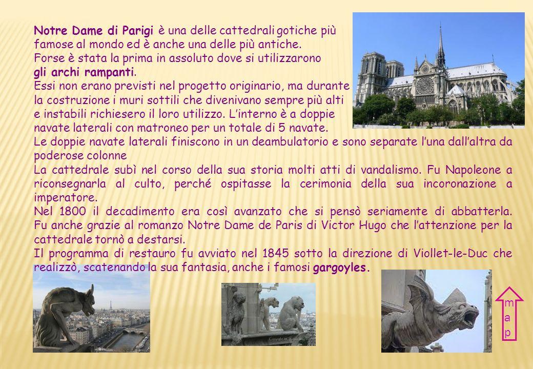 CATTEDRALE DI NOTRE DAME NOTRE DAME CATHEDRAL NazioneFrancia CittàParigi Periodo XII-XIV sec.